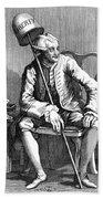 John Wilkes (1727-1797) Bath Towel