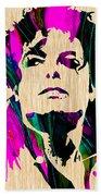 Michael Jackson Painting Bath Towel