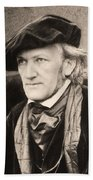 Richard Wagner (1813-1883) Bath Towel