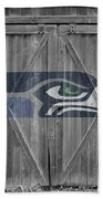 Seattle Seahawks Bath Towel by Joe Hamilton