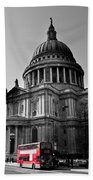 St Paul's Cathedral London Bath Towel