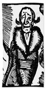 Voltaire Candide Hand Towel