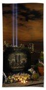 9-11 Monument Bath Towel