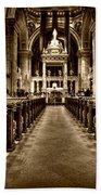 Basilica Of Saint Mary Bath Towel