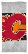 Calgary Flames Bath Towel