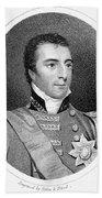 Duke Of Wellington (1769-1852) Bath Towel