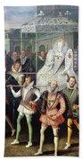 Elizabeth I  (1533-1603) Bath Towel