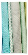 Fabric Background Bath Towel