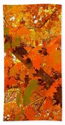 Fall Explosion Of Color Bath Towel