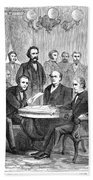 Johnson Impeachment, 1868 Hand Towel