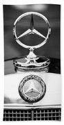 Mercedes-benz Hood Ornament Bath Towel