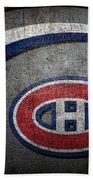 Montreal Canadiens Bath Towel
