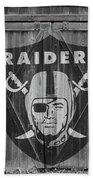 Oakland Raiders Bath Towel