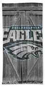 Philadelphia Eagles Bath Towel by Joe Hamilton
