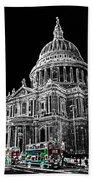 St Pauls Cathedral London Art Bath Towel