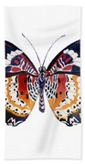94 Lacewing Butterfly Hand Towel by Amy Kirkpatrick