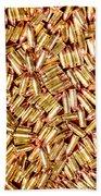 9mm Brass Ammo Bath Towel