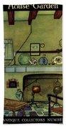 A 1920's Idea Of A Colonial Kitchen Bath Towel