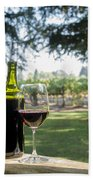 A Beautiful Day In Napa Hand Towel