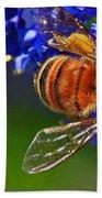 A Bee's Life Bath Towel