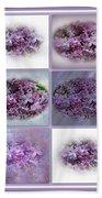 A Bouquet Of Lilacs Bath Towel