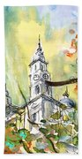 A Church In Budapest 02 Bath Towel