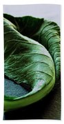 A Collard Leaf Hand Towel