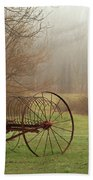 A Country Scene Bath Towel