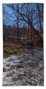 A Creek Runs Though It Bath Towel