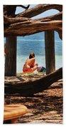 a day in the Florida Keys Bath Towel