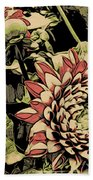 A Floral View Bath Towel