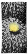 A Flower Among Thorns Bath Towel