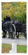A Funeral In Arlington Bath Towel