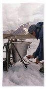 A Glaciologist Tinkers With A Steam Bath Towel