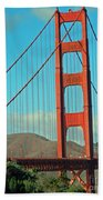 A Golden Gate View Bath Towel