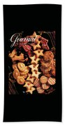 A Gourmet Cover Of Butter Cookies Bath Towel