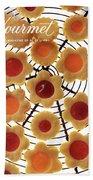 A Gourmet Cover Of Sunny Savaroffs Cookies Bath Towel