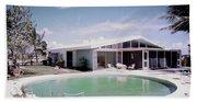 A House In Miami Bath Towel