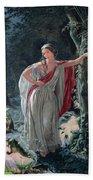 A Midsummer Nights Dream Hermia Bath Towel