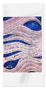 A New Creation Bath Towel