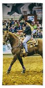 A Night At The Rodeo V17 Bath Towel