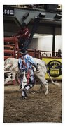 A Night At The Rodeo V39 Bath Towel