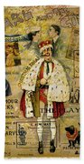 A Night On The Town Christmas Treat Hand Towel
