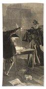 A Parisien Drama, Illustration From Le Bath Towel