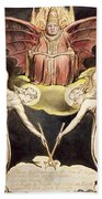 A Priest On Christ's Throne Bath Towel