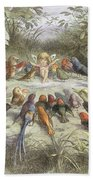 A Rehearsal In Fairy Land, Illustration Hand Towel