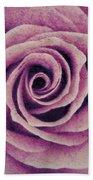 A Sugared Rose Bath Towel