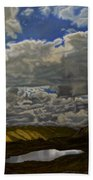 A Summer Day On Cottonwood Pass Bath Towel