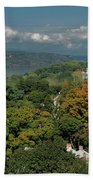 A View From The Hudson River Walkway Bath Towel