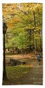 A Walk In The Woods Bath Towel